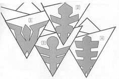paper snowflakes for christmas crafts ideas crafts for kids paper snowflakes for christmas crafts ideas crafts for kids The post paper snowflakes for christmas crafts ideas crafts for kids appeared first on Paper Ideas. Paper Snowflake Template, Paper Snowflake Patterns, Paper Snowflakes, Snowflake Designs, Paper Patterns, Noel Christmas, Christmas Snowflakes, Simple Christmas, All Things Christmas