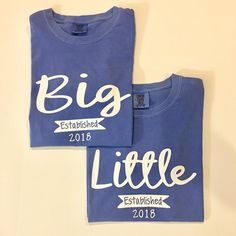 Big little Sorority Shirt Big Little Sorority Shirts, Big Little Shirts, Big Little Week, Big Little Reveal, Cheer Sister Gifts, Cheer Gifts, Vinyl Clothing, Clothing Ideas, Sorority Gifts