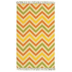 LNR Home Tribeca Vibrance Chevron Area Rug (5' x 8') - Overstock Shopping - Great Deals on 5x8 - 6x9 Rugs