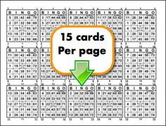 12 Ideas De Bingo Cartas De Bingo Tablas De Bingo Cartones De Bingo