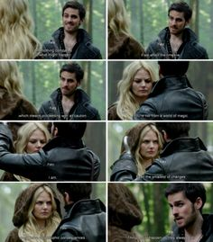 """""""Even the smallest of changes could have catastrophic consequences."""" -Hook - Emma and Hook #CaptainSwan, """"Snow Drift"""" 3*21"""