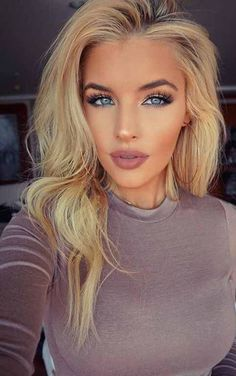 Jean Watts: When you worry about what other people think of you, you give up the power to enjoy you. Your opinion of yourself is your key to happiness. Flawless Makeup, Gorgeous Makeup, Skin Makeup, Beauty Makeup, Hair Beauty, Blonde Makeup, Fresh Face Makeup, Eyebrow Makeup, Pretty Makeup