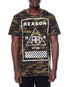 Find CAMO BOX TEE Men's Shirts from Reason & more at DrJays. on Drjays.com
