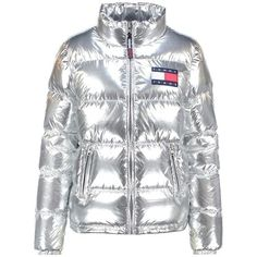 Down Jacket Tommy Hilfiger ❤ liked on Polyvore featuring outerwear, jackets, down jacket and down filled jacket