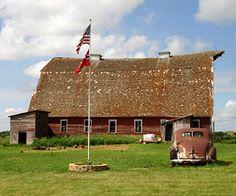 Family barn, North Dakota