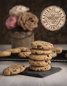Soft & Chewy Gluten-free Chocolate Chip Cookies:  Prep Time: 25 Minutes  Cook Time: 10-12 Minutes  Makes: 18 Cookies