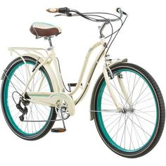"26"" Schwinn Fairhaven Women's 7-Speed Cruiser Bike, Cream - this is my fave.  I have Walmart bucks I can use!"