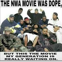 The movie biopic I want to see is Public Enemy, a conscious hip hop group and one of the greatest of all time that educates you with their music