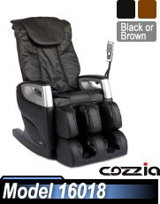 Awesome Cozzia 16018 Shiatsu Massage Chair