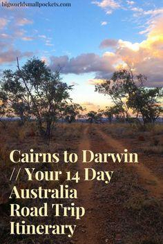 Cairns to Darwin : Your 14 Day Australia Road Trip Itinerary {Big World Small Pockets} Australia Travel Guide, Coast Australia, Visit Australia, South Australia, Australian Road Trip, Australian Beach, Australian Holidays, Cool Places To Visit, Places To Go