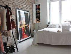 Amazing luxury home design~ interior design bedroom Interior Design Home Bedroom, Bedroom Decor, Dream Bedroom, Nordic Bedroom, Bedrooms, Closet Bedroom, Feminine Apartment, Brick Wall Bedroom, Brick Walls