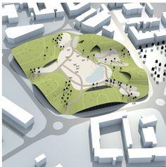 unbuilts: Sports and Recreational Centre   Green Forum Poreč   Porec   Croatia   3HLHD Architects