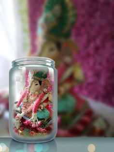Ganesh Images, Ganesha Pictures, Ganesh Photo, Ganesh Wallpaper, Ganpati Bappa, Lord Ganesha, Flower Decorations, Festivals, Snow Globes