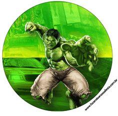 "Imprimés Thème ""Hulk"" : http://fazendoanossafesta.com.br/2014/05/hulk.html/"