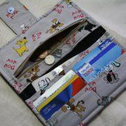 Sewing – my craft room Sew Wallet, Fabric Wallet, Fabric Purses, Fabric Crafts, Sewing Crafts, Sewing Projects, Sewing Ideas, Diy Bags Purses, Purse Tutorial