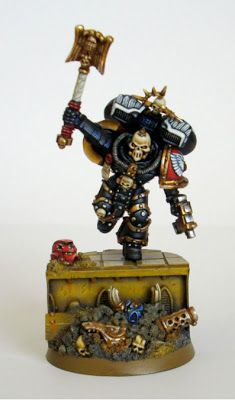 Tale of Painters: Showcase: Blood Angel Chaplain with Jump Pack