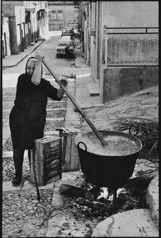 Italian Vintage Photographs ~ Leonard Freed. ITALY. Sicily. 1974.