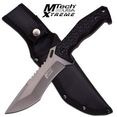 "MTech USA XTREME MX-8115 FIXED BLADE KNIFE 11.25"" OVERALL FIXED BLADES 