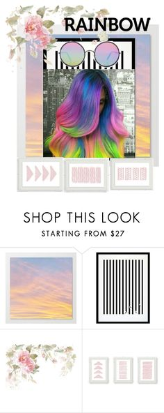 """""""ROYGBIV"""" by sparklingbutterfly55555 ❤ liked on Polyvore featuring beauty, Eleanor Stuart and Sunday Somewhere"""