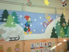 Σήμερα, σε έναν δημοτικό παιδικό σταθμό, θαύμασα την ακόλουθη χειμωνιάτικη-χριστουγεννιάτικη διακόσμηση τοίχων! Η όλη σύνθεση στηρίζεται ...