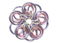 Learn a Weave - Celtic Flower Pendant - Beadsisters
