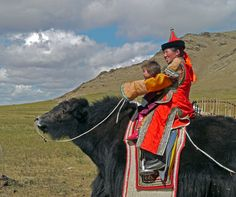 Mother and Child - UB, Ulaanbaatar