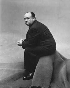 Alfred Hitchcock by Irving Penn, 1947