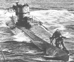 The WWII German U-boat, U-9