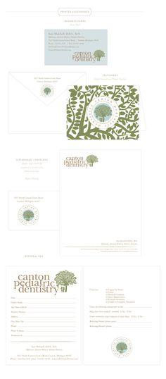 Emily McCarthy Branding | Canton Pediatric Dentistry Printed Materials