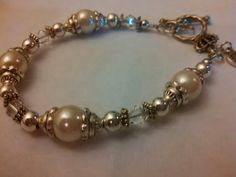 Larger pearl like glass beads.