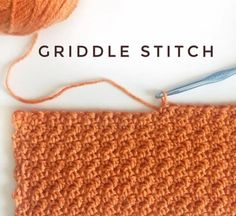 One of my favorite stitches! It looks the same on either side and gives you a great bumpy look without…