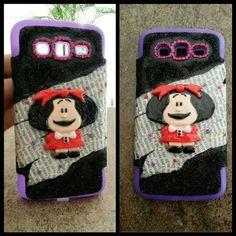 Mafalda Cell Phone Cases, Lunch Box, Deco, Handmade, Hand Made, Phone Case, Bento Box, Decor, Deko