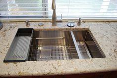 Delightful Beautiful Franke Peak Sink Installation! Makes Use Of Colander And Bottom  Grid. Http://store.frankeksd.com   Pinterest   Sinks, Kitchens And Sink  Design