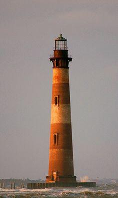 Morris Island Lighthouse (Charleston, South Carolina)| by crisbyy