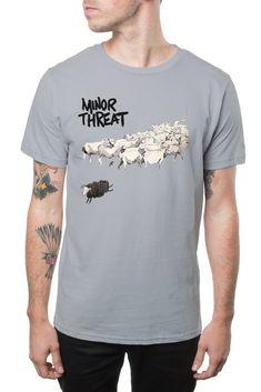 Minor Threat Still Out of Step Band Shirt Depeche Mode Violator, Lugosi Dracula, Minor Threat, T Shirt Photo, Band Shirts, Grey Shirt, Mens Tops, Cotton, Etsy