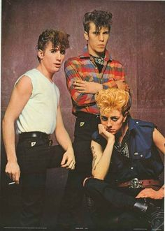 An awesome poster of the Stray Cats! Brian Setzer, Lee Rocker, and Slim Jim Phantom led the rock n' roll revival with their swinging sound! Published in 1981. Fully licensed. Ships fast. 25x35 inches.