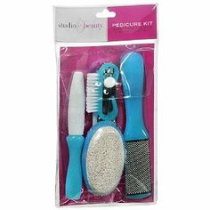 Studio 35 Beauty Pedicure Kit, 1 ea by Walgreens. $7.99. Everything You Need for Beautiful Feet 5 Piece Kit Includes: File Brush Cuticle Pusher Toenail Clipper Callus Remover ;
