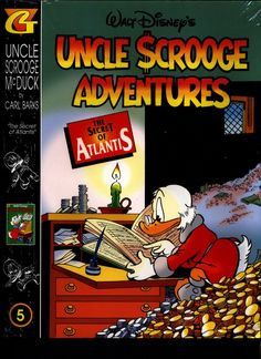 SEALED Walt Disney's Uncle Scrooge & Donald Duck Comics CARL BARKS Library of Uncle Scrooge McDuck Comics Stories in Color #5 N M With Card