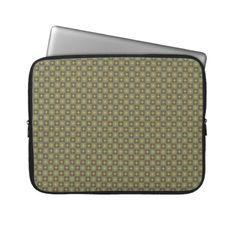 """Laptop Sleeve """"Autumn Colors"""" Vers02. Herbstliche Farben, Natur- und Erdtöne. Grafik und Entwurf bei ArianneGrafX©2012"""