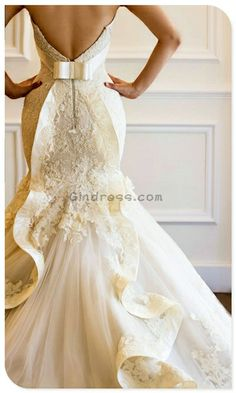Pretty back. Interesting website for more than just wedding dresses.