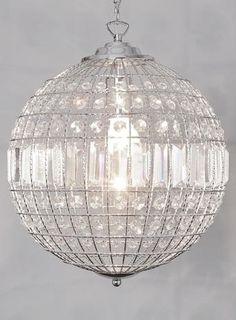 simple crystal ball pendant light. ursula small crystal ball pendant light simple p