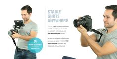 The New PocketRIG². World's most portable DSLR rig.