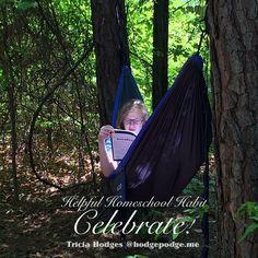 Helpful Homeschool Habit - Celebrate!
