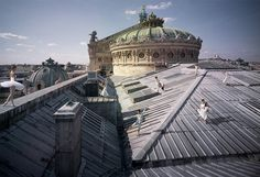Auditions pour le Ballet de lOpéra de Paris on the rooftop of the Palais Garnier.  @operadeparis - Step behind the red velvet rope. - Tag #redvelvetrope to be featured -  #luxurytravel  #bestintravel