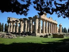 """Temple of Demeter in Cyrene """"(in Greek, Κυρήνη – Kyrēnē), an ancient Greek colony in present-day Shahhat; Libya, the oldest and most important of the five Greek cities in the region."""""""
