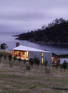 27 Modern and Minimalist Prefab Homes via Brit + Co