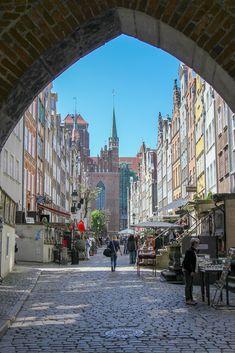 Mariacka Street, St. Mary's Gate, Gdansk, Poland