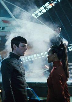 spock et uhura