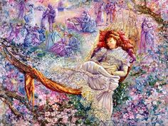 Apple Blossom Dreams ~ Josephine Wall