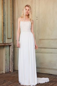 Trending See all of the newest wedding dresses from Christos Spring bridal collection